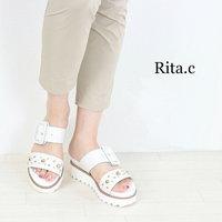 Rita.C スタッズサンダル入荷☆